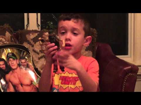 Bray Wyatt wwe elite toy wrestle mania xxx build a Kane figure review