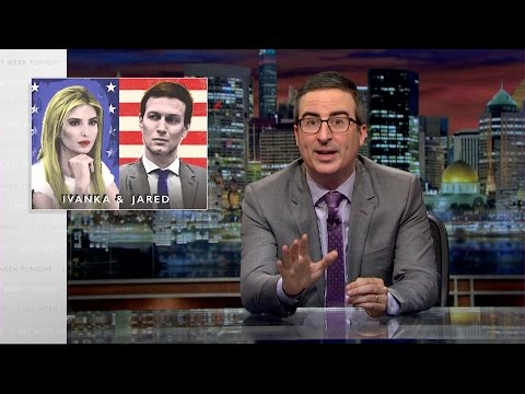 Ivanka & Jared Last Week Tonight with John Oliver HBO