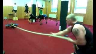 tréninky v Barbar gymu