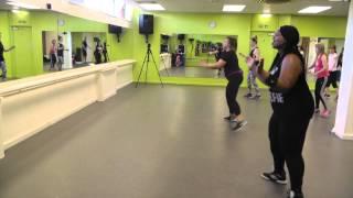 Gina's funky aerobics 2015