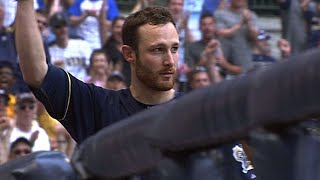 Jonathan Lucroy lifts two homers, drives in seven