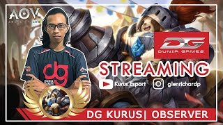 Live Stream    DG Kurus AOV INDONESIA (18+)   NEMENIN KALIAN SAHUR LAGI !!! PUASA DAY 8~