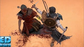 Assassin's Creed Origins  Fast Flawless Combat with Dual Swords