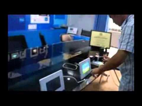 PLC digital video door phone