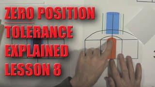 GD&T Zero Position Lesson 8 - NO MATH
