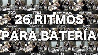 26 ritmos para batería - 1ªparte