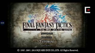 How to download and install FINAL FANTASY TACTICS WotL APK free for android 2019 | APK BEASTS