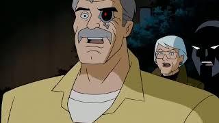 Batman Beyond stops Van Dyle