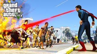 SUPERMAN VS ZOMBIES !!! GTA 5 Zombie Apocalypse Mod (GTA 5 Mods)