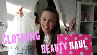 Clothing and Beauty haul // 2016