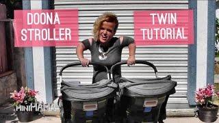 Doona Stroller - Single to Dual Twin Strollers How To Tutorial - Mini Mama - Terra Jole'