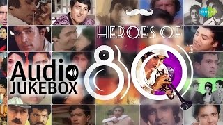 Best of 80s Hindi Songs | Evergreen Hindi Songs Jukebox | Bollywood Heroes Special