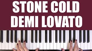 HOW TO PLAY: STONE COLD - DEMI LOVATO