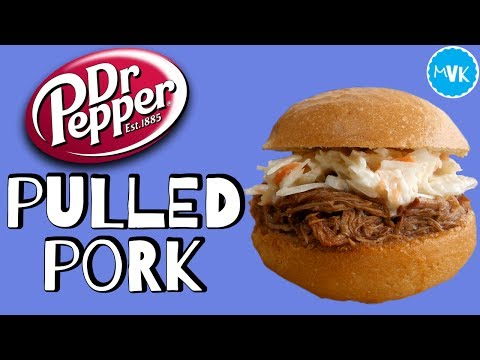 DR PEPPER SLOW COOKER PULLED PORK