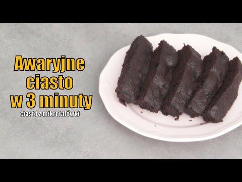 Awaryjne ciasto w 3 minuty
