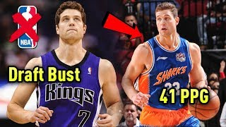 He Was A Draft BUST & Out Of The NBA But Is Now Averaging 41 PPG Overseas!   Jimmer Fredette