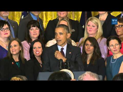 President Obama Honors The National Teacher of the Year & Finalists
