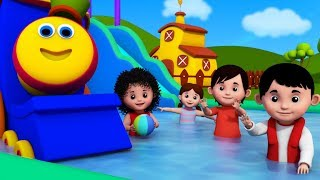 Adjectives Song   Learning Street With Bob The Train   Nursery Rhymes For Children by Kids Tv