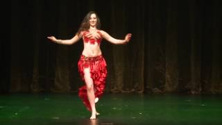 Belly Dance drum solo by Gabriela Kamenecka 2016