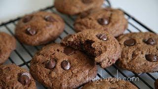 Շոկոլադով Թխվածքաբլիթ - Chocolate Chip Cookies - Heghineh Cooking Show