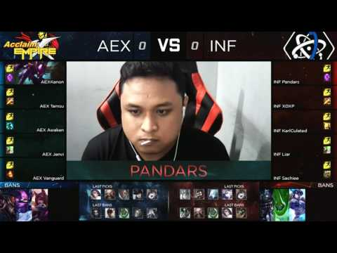 Pro Gaming Series 2017 Summer Split Week 2 Day 2 - AEX vs INF