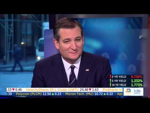 Ted Cruz on CNBC s Squawkbox April 15 2016