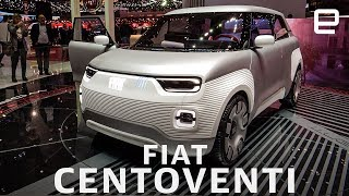 Fiat Centoventi First Look: A Customizable Compact EV at the Geneva Motor Show 2019