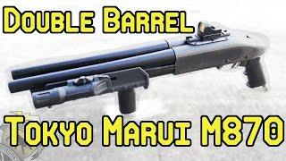 Double Barrel Tokyo Marui M870 Shotgun (High Ground Airsoft)