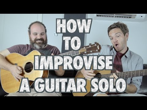 How to Improvise a Guitar Solo