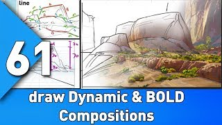 Draw Dynamic and Bold compositions