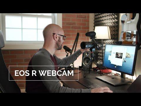 Use your Canon camera as a webcam