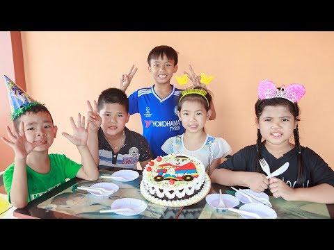 Xxx Mp4 Kids Go To School Day Birthday Of Chuns Children Make Fruit Cake At The Shop 3gp Sex