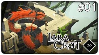 INSEGUITO DA UNO SPAVENTOSO MOSTRO | Lara Croft GO - ep. 01 [ITA]