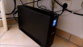 APC UPS PRO USV 900 VA / BR900G - Aufbau