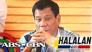 TV Patrol: Duterte, pinangalanan ang mga ipapasok sa Gabinete