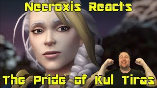 Battle for Azeroth Cinematic - The Pride of Kul Tiras - Necroxis Reacts