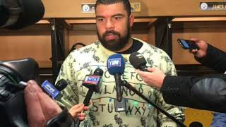 Steelers DE Cameron Heyward talks about the win over the Titans