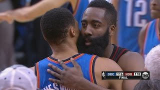 Nene Game Winner! Russell Westbrook 49 Pts vs James Harden Thunder vs Rockets