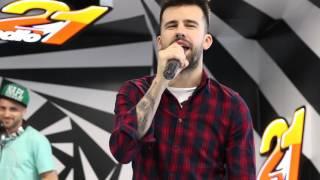 Vescan feat. Florin Ristei - Las-o... (LIVE @ Radio 21)