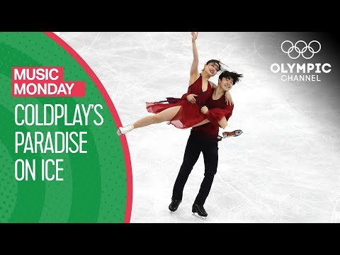 Maia & Alex Shibutani s Ice dance to Paradise by Coldplay at PyeongChang 2018 Music Monday