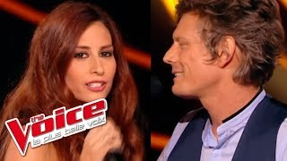 Françoise Hardy – Mon amie la rose | Hiba Tawaji VS Nög | The Voice France 2015 | Battle