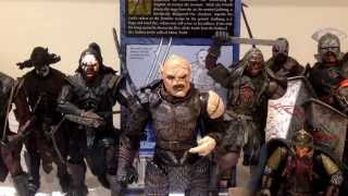 Lord of the Rings the return of the king ROTK Gothmog super articulated toy biz figure review