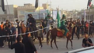 مسيرة ضعن الحسين التشبيهي (الغراف)