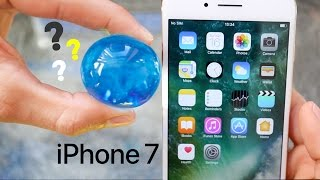 LARGE WATER BALLS Protect iPhone 7 from 100 Feet HIGH! - Orbeez Drop Test