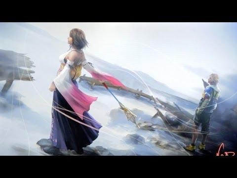 The Art of Final Fantasy X/X-2 HD Remaster - Live Art Demo