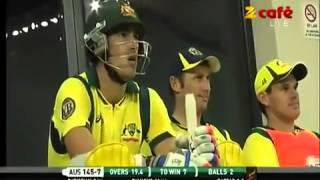 Abdul Razzaq last over in 2nd T20 against Australia, Dubai