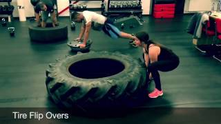 20 great Tractor Tire Exercises for bootcamp or a Total-body fitness work-out
