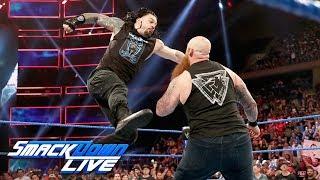 Roman Reigns and Erick Rowan confrontation turns into wild brawl: SmackDown LIVE, Sept. 10, 2019