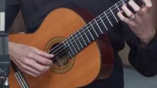 Classical Guitar Lesson 1