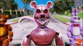 BRAND NEW SCARY RAT ANIMATRONIC! (GTA 5 Mods For Kids FNAF RedHatter)